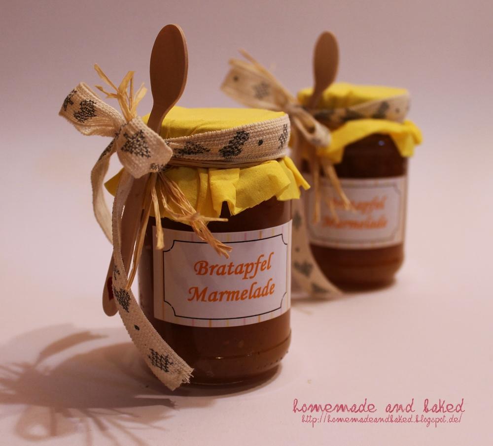 Wasserkocher Zu Verschenken = homemade and baked foodblog bratapfel marmela