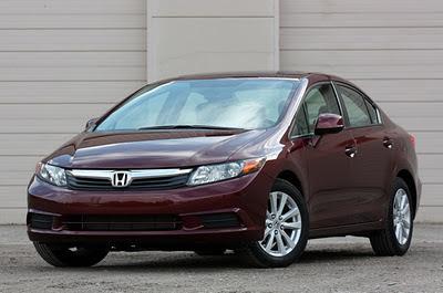 Honda Civic 2012 ด้านหน้า