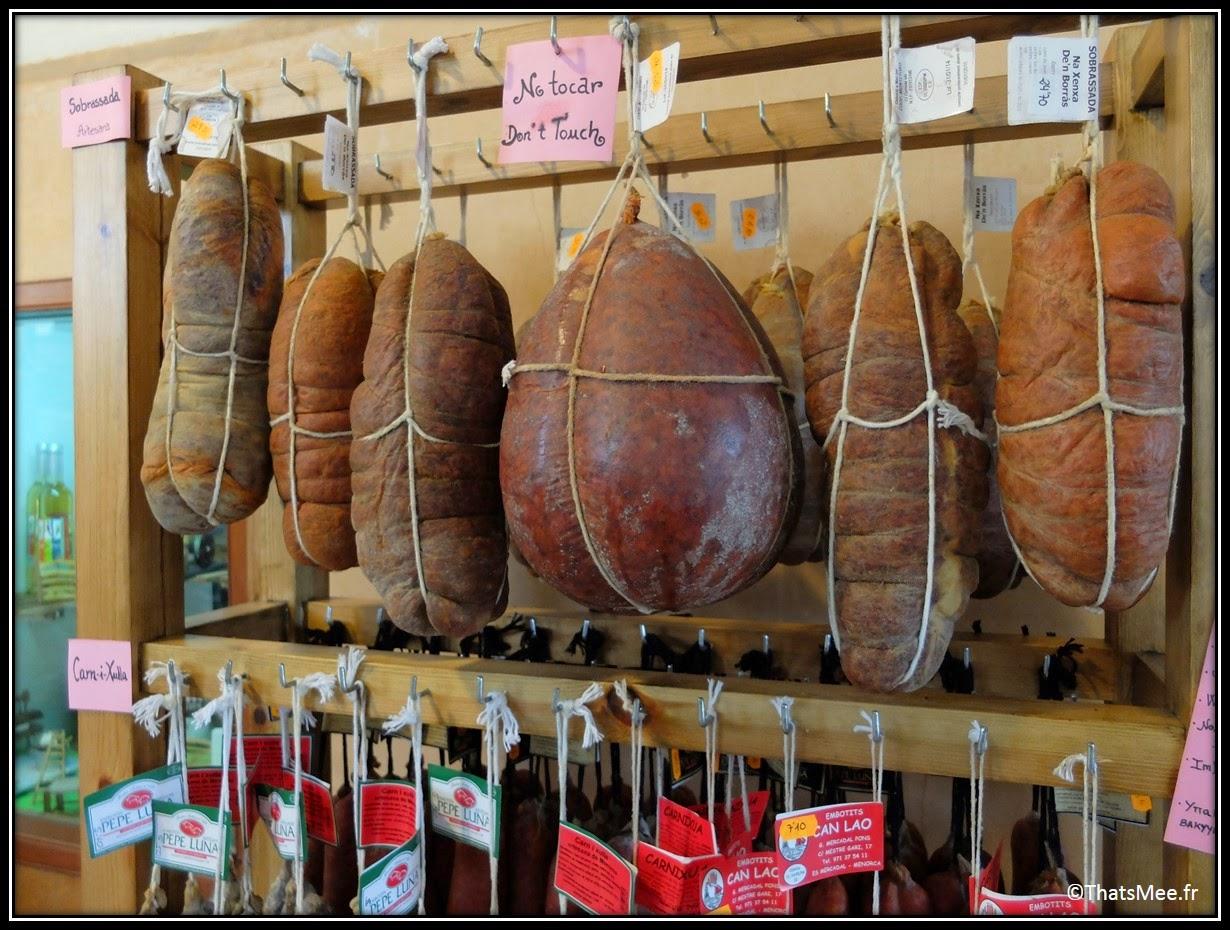 Soubressade salsichon Minorque Baléares porc spécialité gastronomie
