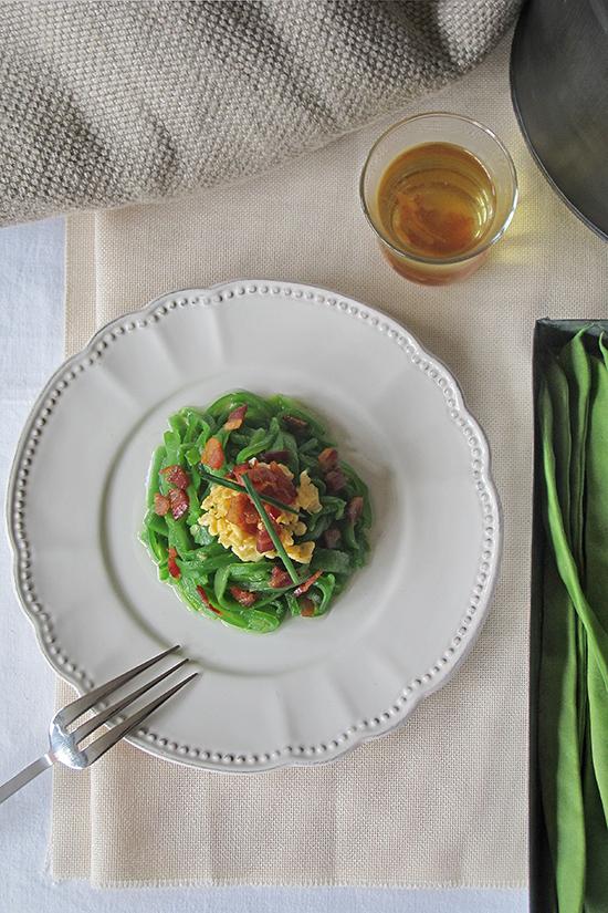 Receta de jud as verdes con beicon tobegourmet - Tiempo de coccion de judias verdes ...