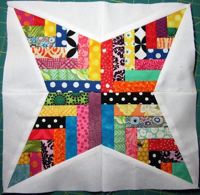Basketweave Star Block
