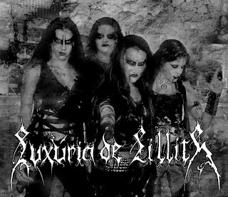 Luxúria de Lilith - mulher black metal