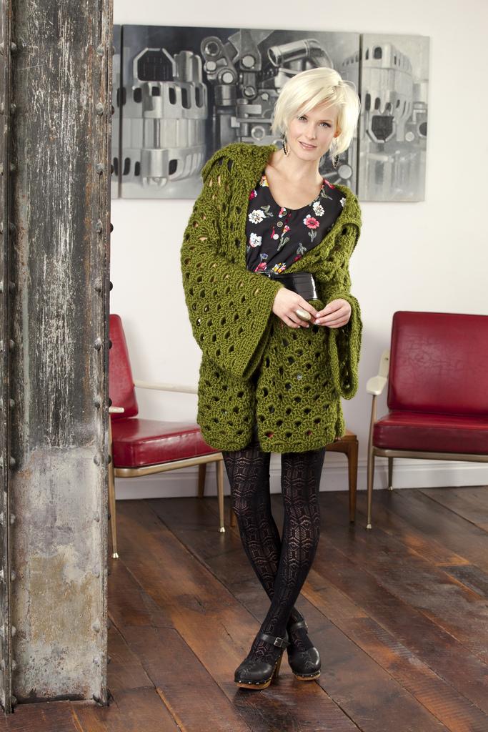 New Sheepish Pattern Penny Arcade Jacket Vickie Howell