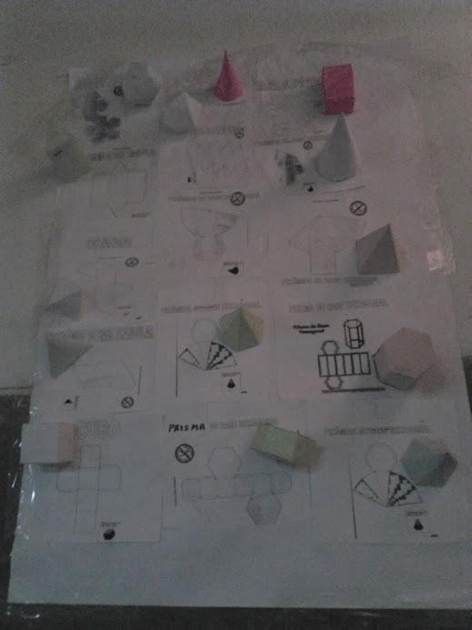 figuras geométricas  e sólidos geométricos