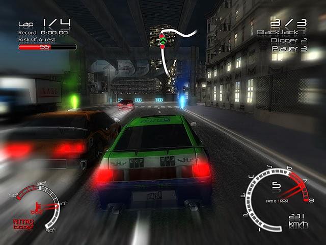 لعبة سباق سيارات الشرطة Racers vs Police