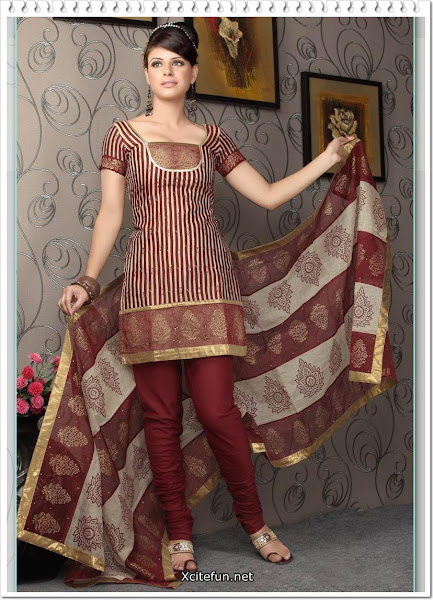 Churidar Salwar Kameez Beautiful Designs