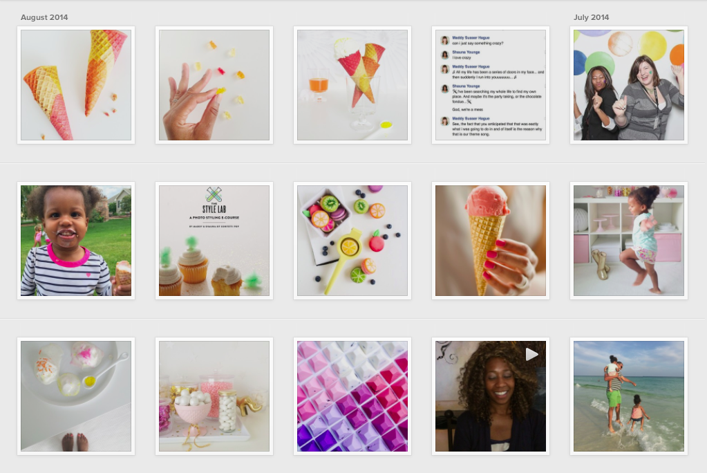 Shauna Younge's dessert-filled Instagram feed