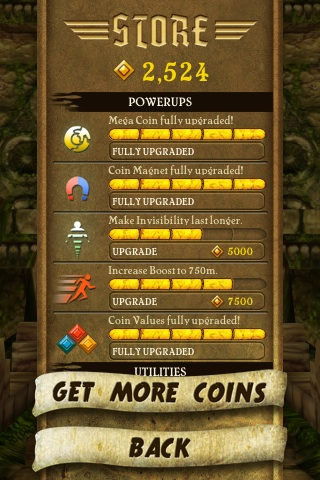 Temple Run iTunes Game App By Imangi Studios