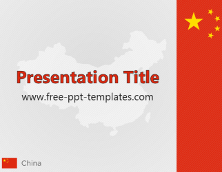 powerpoint sitemap template - china ppt template taiwan china powerpoint map slides