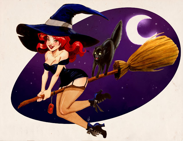 Another Halloween Witch by Olaya Walle
