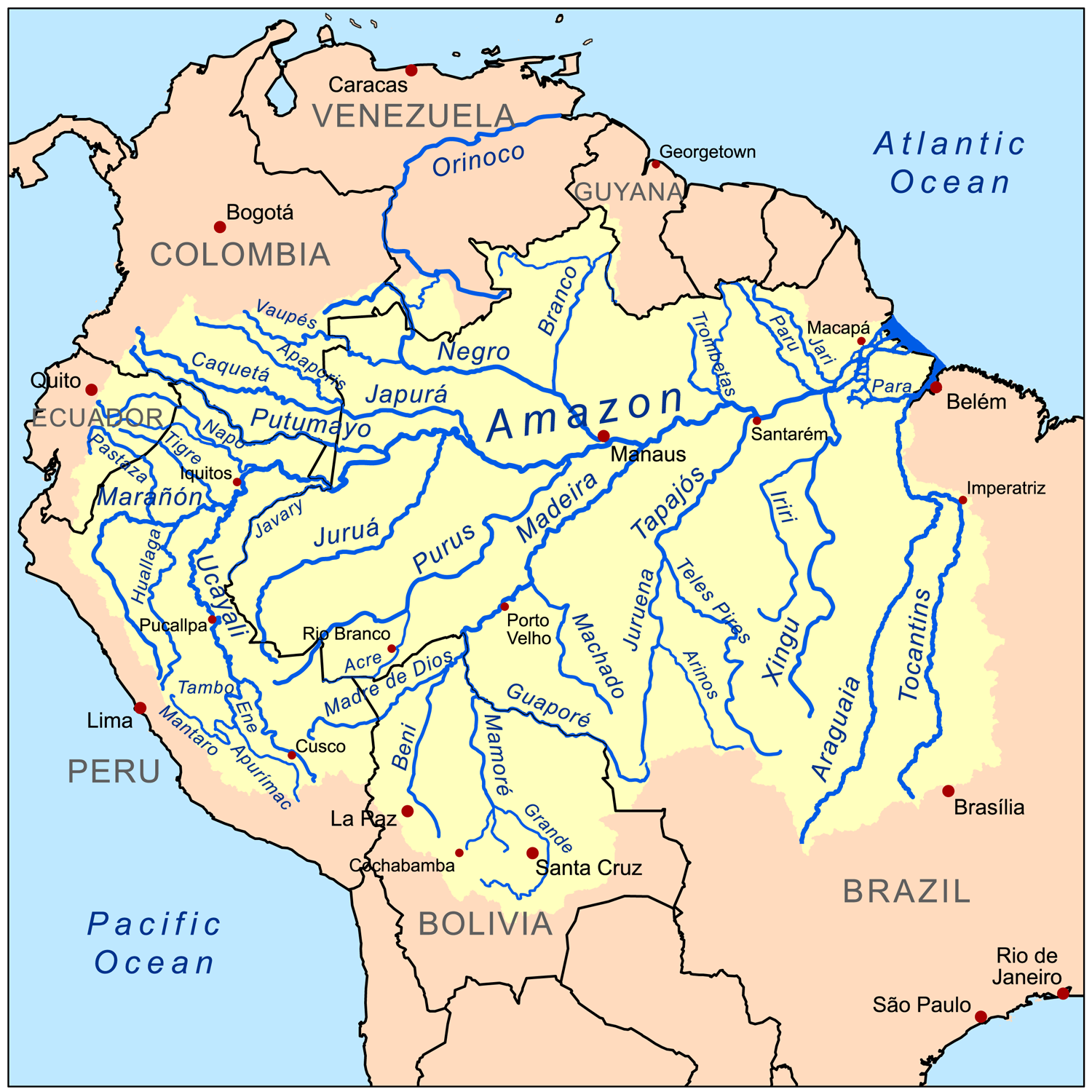 the amazon river basin find image here