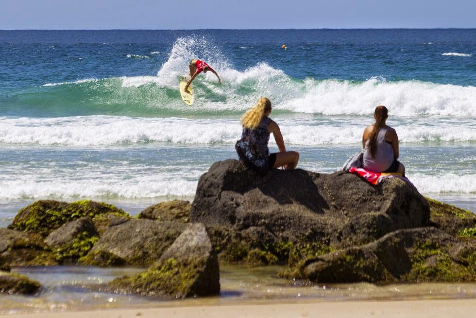 64 Roxy Pro Gold Coast 2015 Bianca Buitendag Foto WSL Kelly Cestari