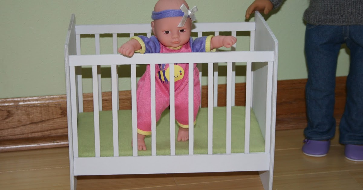 Arts and Crafts for your American Girl Doll: Crib for ...