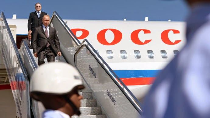 NWO Attempted Assassination of Vladimir Putin, But Got the Wrong Plane