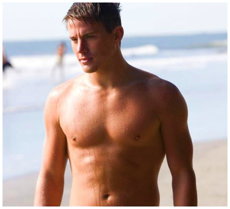 tatum shirtless