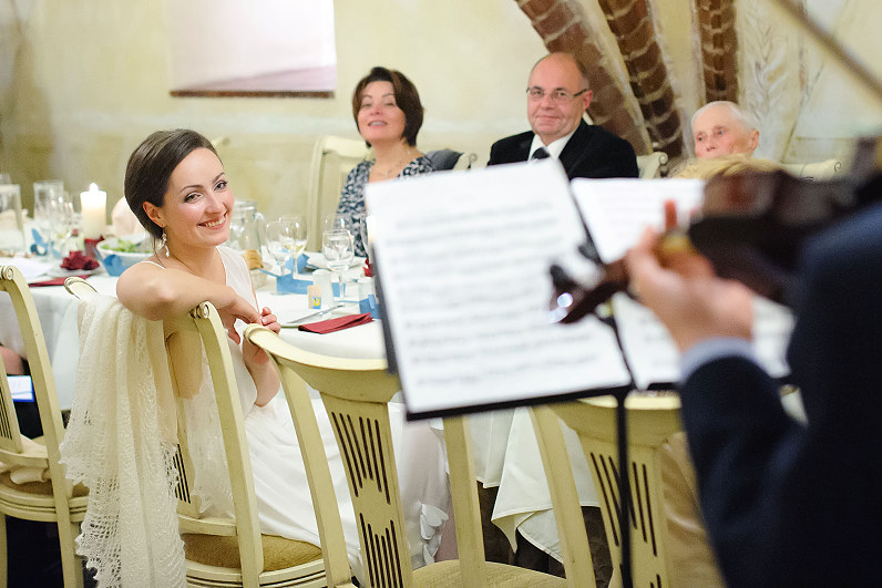 elegantiškas vestuvių pokylis