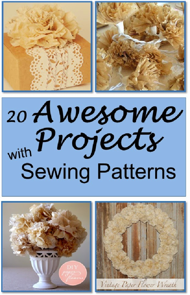 Title Page - 20 Awesome Projects Made with Sewing Patterns