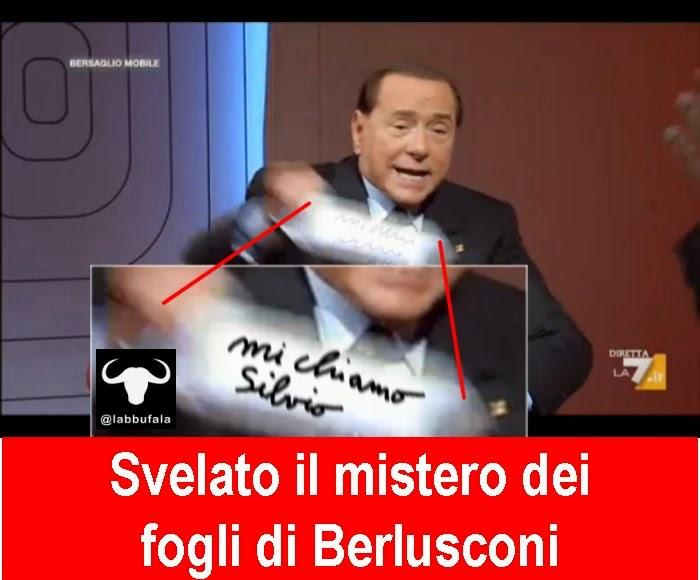 Berlusconi fogli