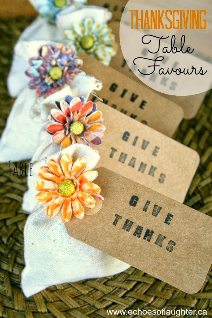 thanksgiving table favors. Thanksgiving Table Favours Favors