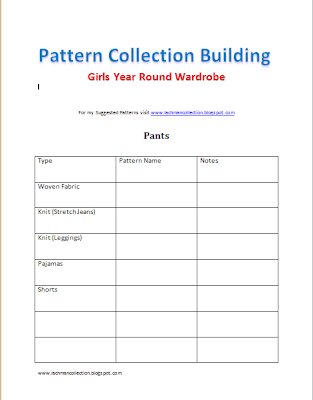Free Printable from www.lachmancollection.blogspot.com to help you build the pattern collection of your dreams!