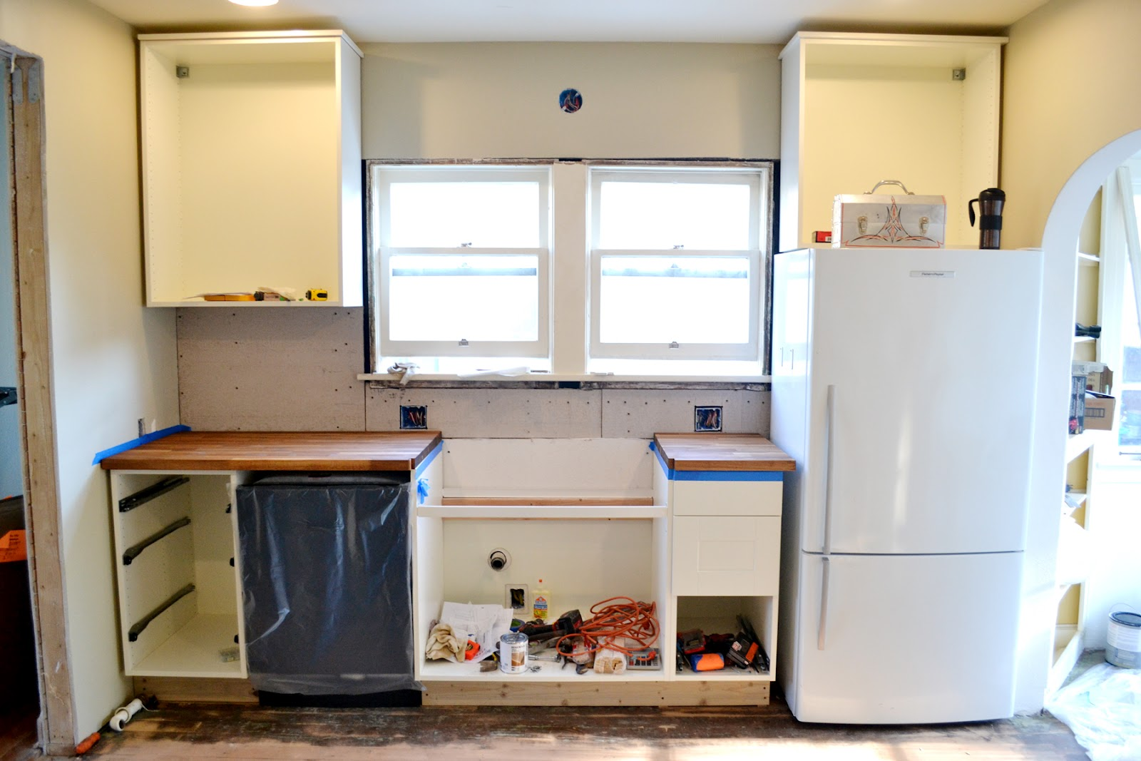 How much to install kitchen cabinets for Installing kitchen cabinets