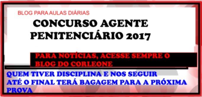 CONCURSO AGENTE PENITENCIÁRIO MG