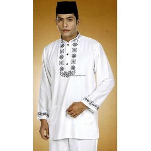 Busana Muslim Koko Warna Putih