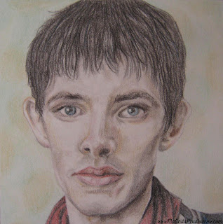 portrait artist, beauty art, original artwork, merlin, merlin art, bbc merlin, king arthur art, merlin art, collin morgan, collin morgan art, collin morgan drawing