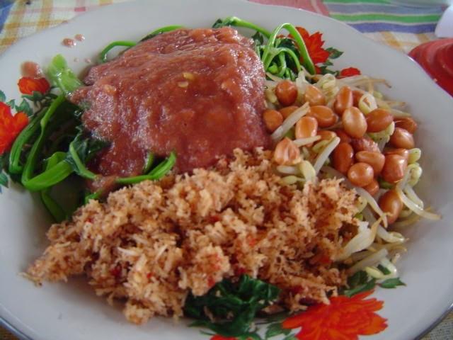 Pelecing Kangkung Kuliner Khas Lombok