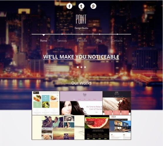 Free Responsive Design Agency Theme