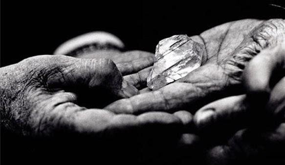 историята на диаманта