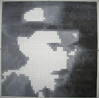 Fernando Pessoa: Pintura Quadrículas 11