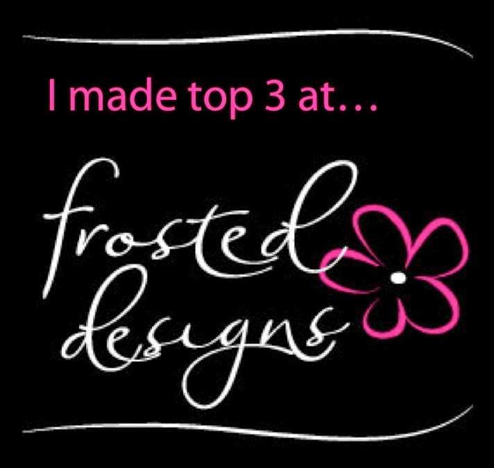 My layout was  featured on Frosted Designs July 17,2014