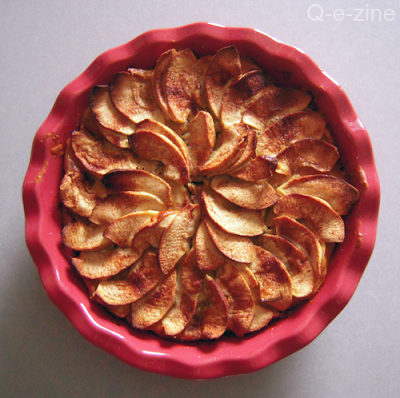 gateau pommes cannelle
