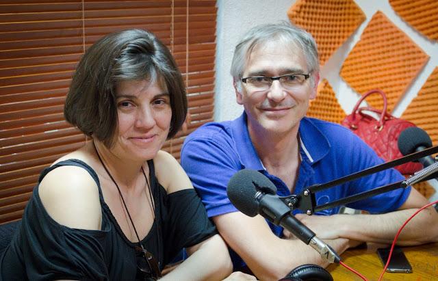 Enrique Jurado y Celia Crespo en La Odisea de Emprender
