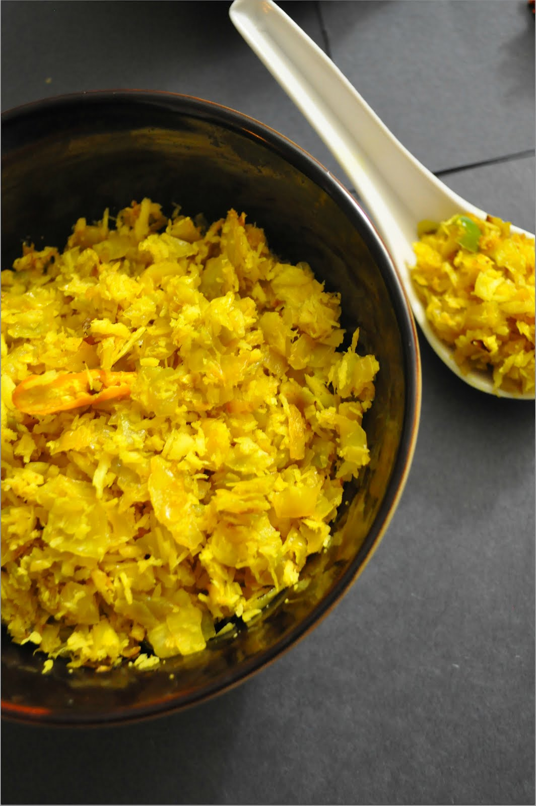 Cabbage Thoran / Kerala-Style Cabbage Stir fry (Guest Post - 20 By ...