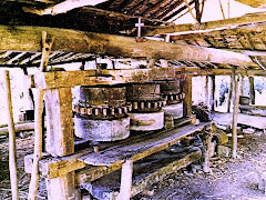 Antiguo trapiche tachirense en madera y piedra | Old Tachiran Wood and Stone Sugarcane Press
