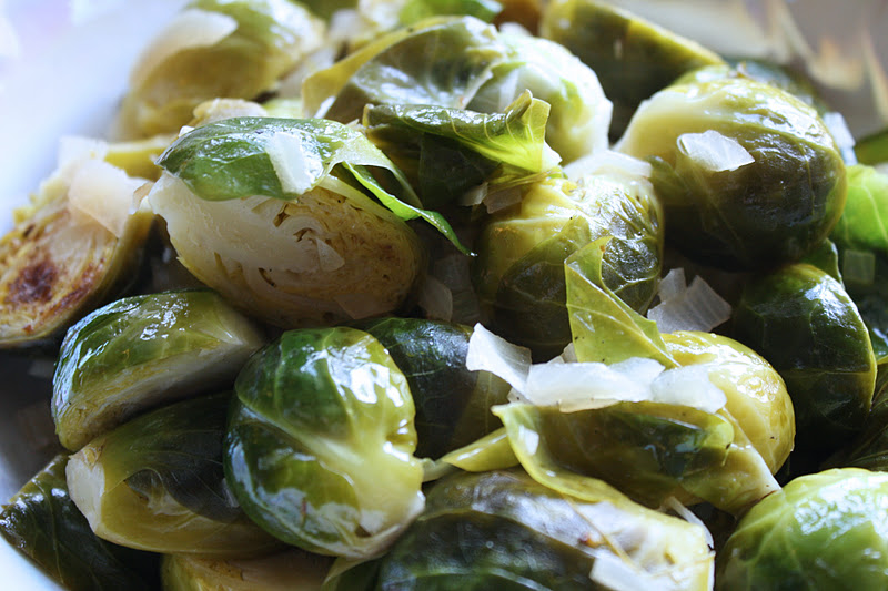 AND MARY: Food | Smitten Kitchen Dijon Braised Brussels Sprouts