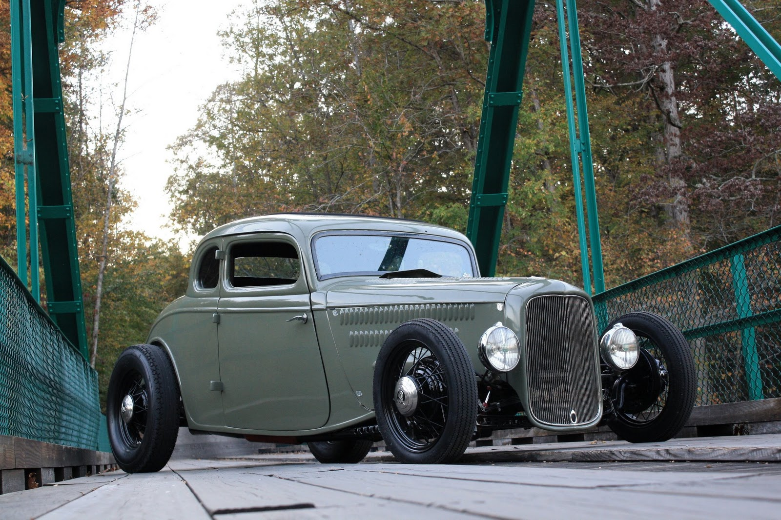 33 Ford Wheels : Hell on wheels ford coupe