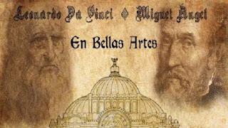 Da Vinci y Miguel Ángel llenan Bellas Artes