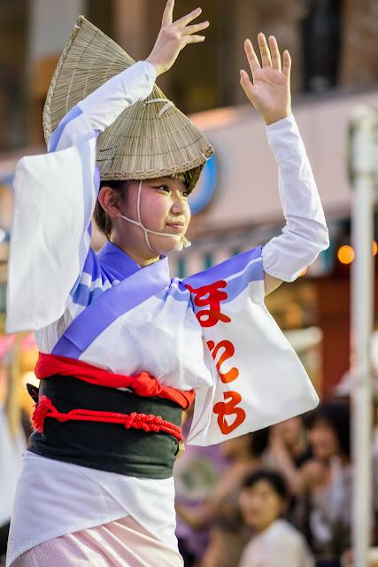 三鷹阿波踊り  江戸の阿波 螢の女踊り