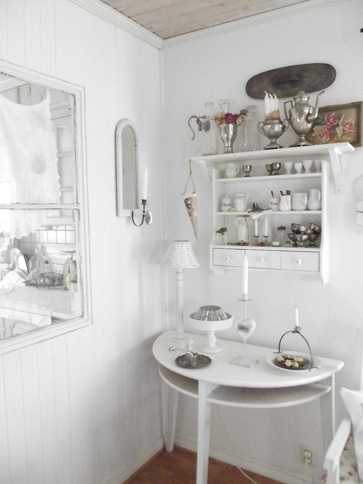 änglarnas hus Vintage in romantic style halvmåne
