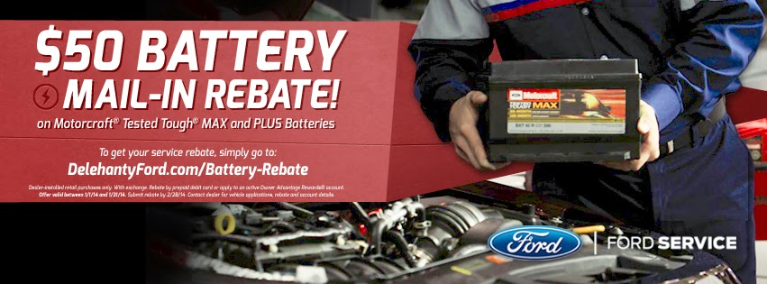 Awesome January Rebate Deals at Delehanty Ford