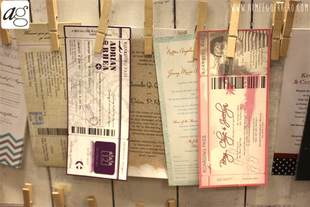 Weddings and Beyond Expo 2013 INVITATIONS