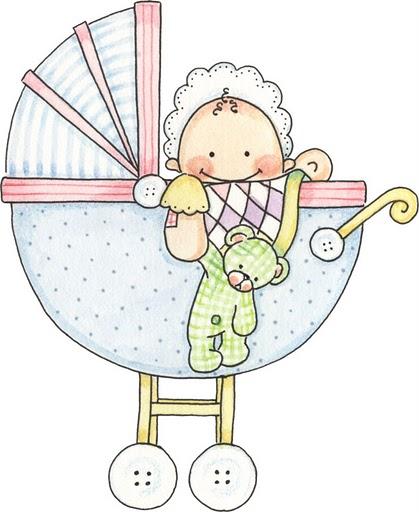Dibujo de cigueña con bebé para imprimir - Imagui