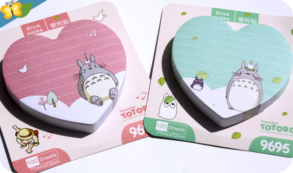 Post-it Totoro - Le Club des Sottes