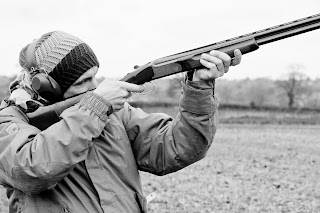 Clay pigeon shoot Norfolk