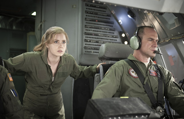 Man of Steel AMY ADAMS as Lois Lane and CHRISTOPHER MELONI as Colonel Nathan Hardy