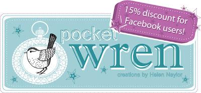 Pocket Wren logo 15% discount