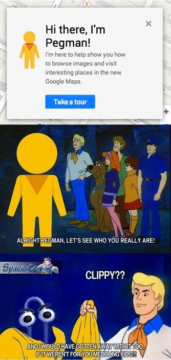 funny Pegman humor pics